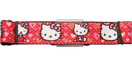 Hello Kitty Faces Poses Hearts Seatbelt Belt
