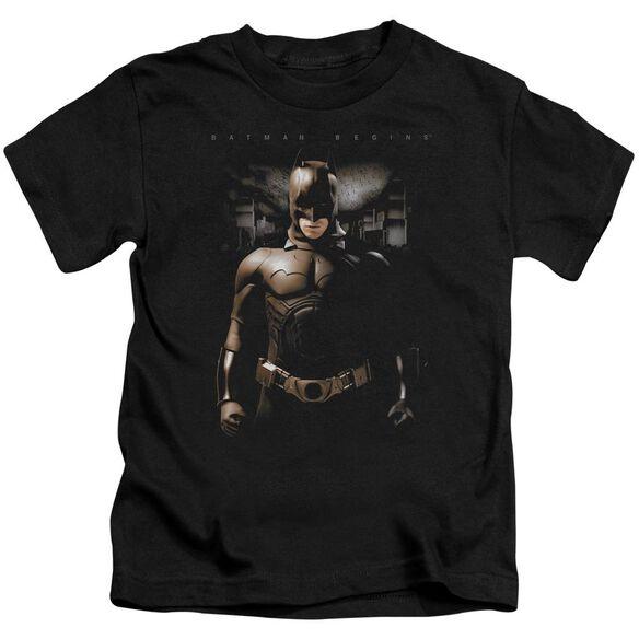 Batman Begins Gotham Bats Short Sleeve Juvenile T-Shirt
