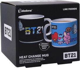 BT21 Heat Color Change Mug