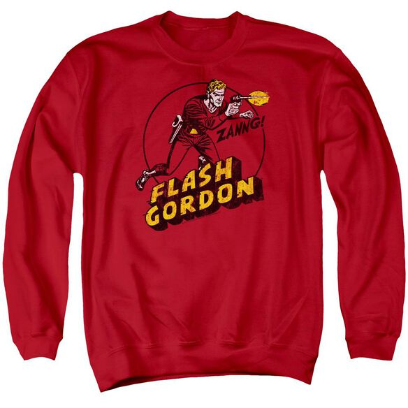 Flash Gordon Zang Adult Crewneck Sweatshirt