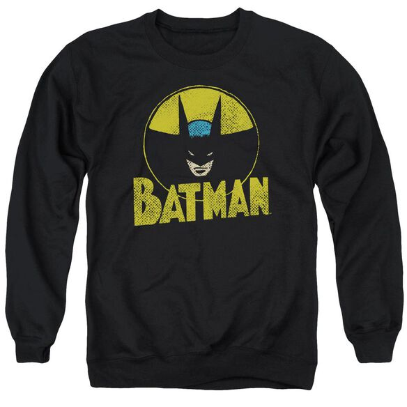 Dc Circle Bat Adult Crewneck Sweatshirt