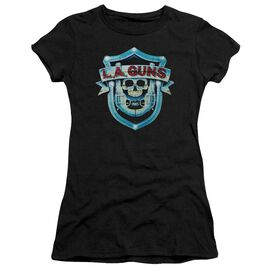 La Guns La Guns Shield Short Sleeve Junior Sheer T-Shirt