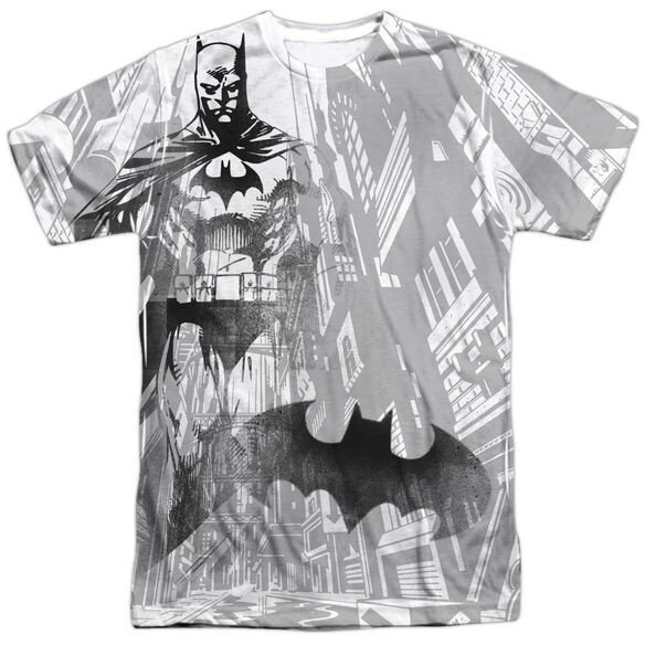 Batman Vigilance Short Sleeve Adult Poly Crew T-Shirt