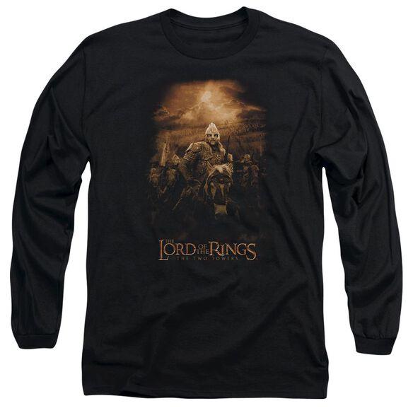 Lor Riders Of Rohan Long Sleeve Adult T-Shirt