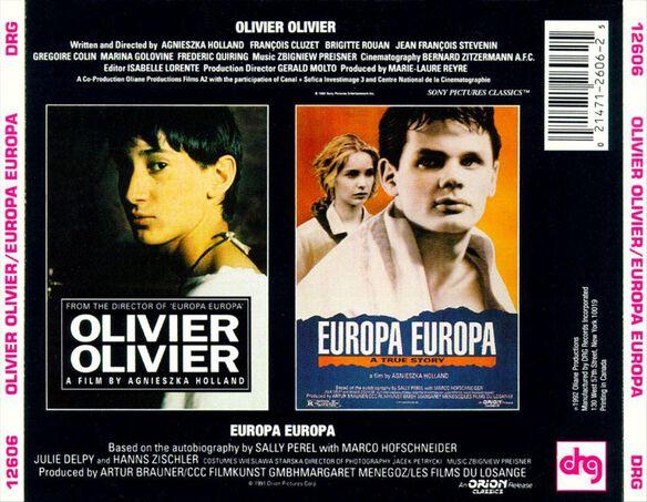 Olivier Oliv Europa Europ