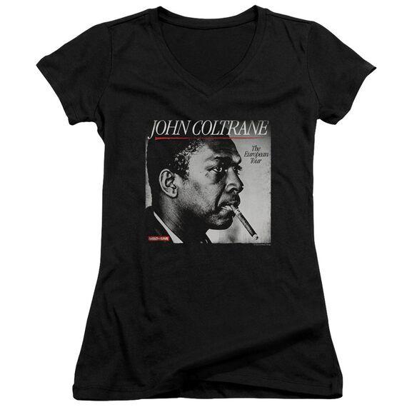 John Coltrane Smoke Break Junior V Neck