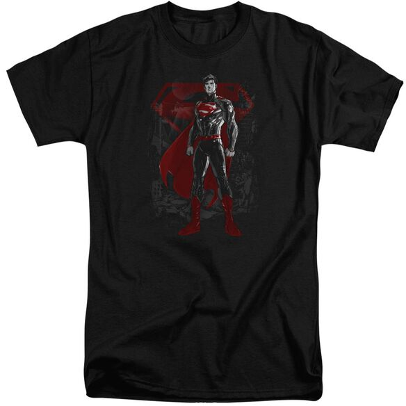 Superman Aftermath Short Sleeve Adult Tall T-Shirt