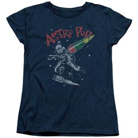 Astro Pop Space Joust Short Sleeve Womens Tee T-Shirt