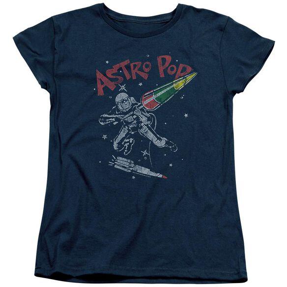 Astro Pop Space Joust Short Sleeve Womens Tee T-Shirt
