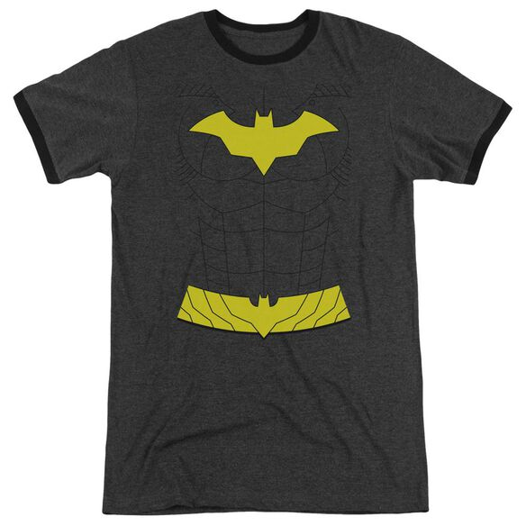 Batman New Batgirl Costume Adult Heather Ringer Charcoal