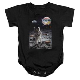 Moon Pie The Truth Infant Snapsuit Black