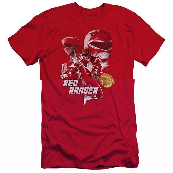 Power Rangers Ranger Hbo Short Sleeve Adult T-Shirt