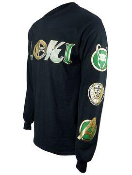 Loki Icons Long Sleeve T-Shirt