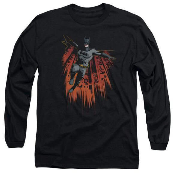 Batman Majestic Long Sleeve Adult T-Shirt