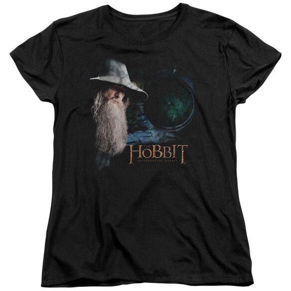 The Hobbit The Door Short Sleeve Womens Tee T-Shirt