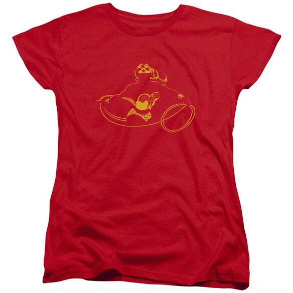 Dc Wonder Min Short Sleeve Womens Tee T-Shirt