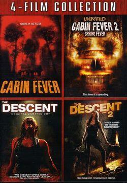 Cabin Fever 1&2 & Descent 1&2