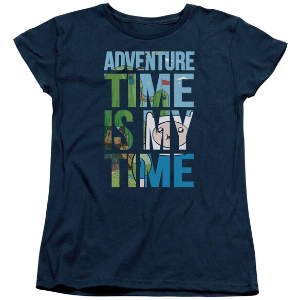 Adventure Time My Time Short Sleeve Womens Tee T-Shirt