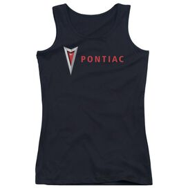 Pontiac Modern Pontiac Arrowhead Juniors Tank Top
