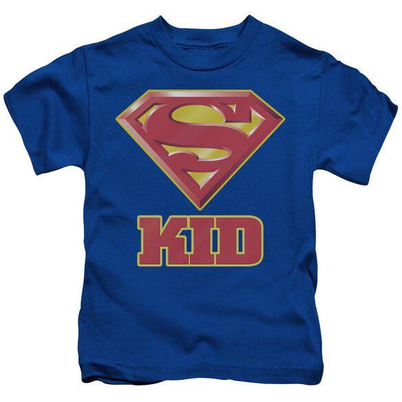 SUPERMAN SUPER KID - S/S JUVENILE 18/1 - ROYAL BLUE - T-Shirt