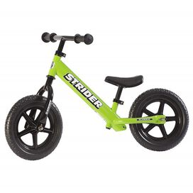 Strider - 12 Classic Balance Bike [Green], Ages 18 Months to 3 Years