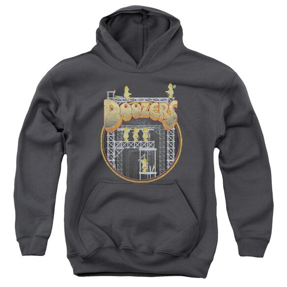 Fraggle Rock Doozers Construction Youth Pull Over Hoodie