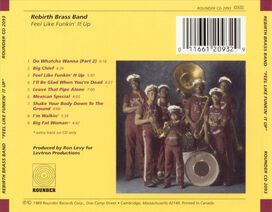 Rebirth Brass Band - Feel Like Funkin' It Up