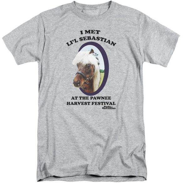 Parks And Rec Lil Sebastian Short Sleeve Adult Tall Athletic T-Shirt