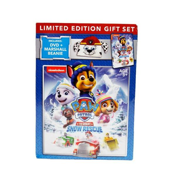 Paw Patrol - The Great Snow Rescue [Exclusive Limited Edition DVD Gift Set]