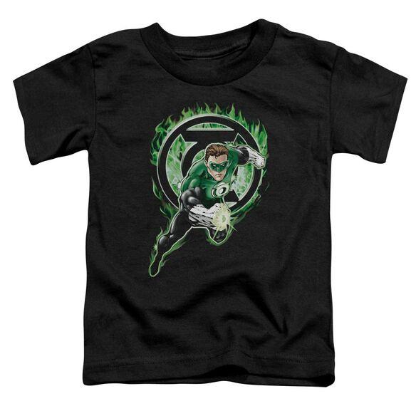 Green Lantern Space Cop Short Sleeve Toddler Tee Black Sm T-Shirt