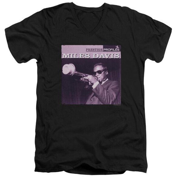 Miles Davis Prince Short Sleeve Adult V Neck T-Shirt