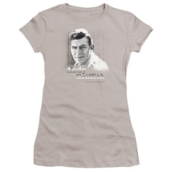 Andy Griffith In Loving Memory Premium Bella Junior Sheer Jersey