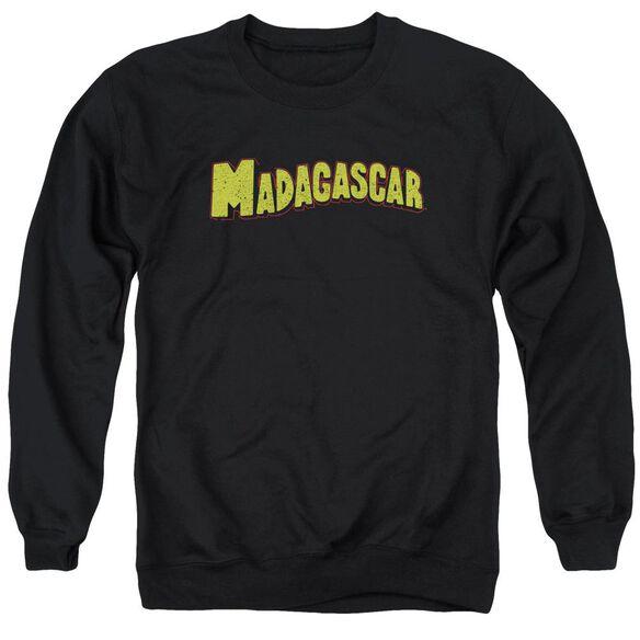 Madagascar Logo Adult Crewneck Sweatshirt