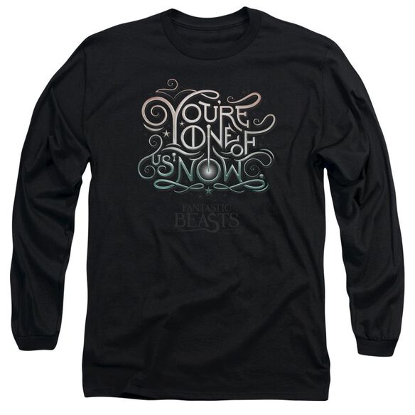 Fantastic Beasts One Of Us Long Sleeve Adult T-Shirt