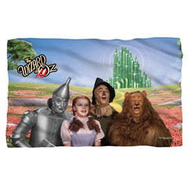 Woz Emerald City Fleece Blanket