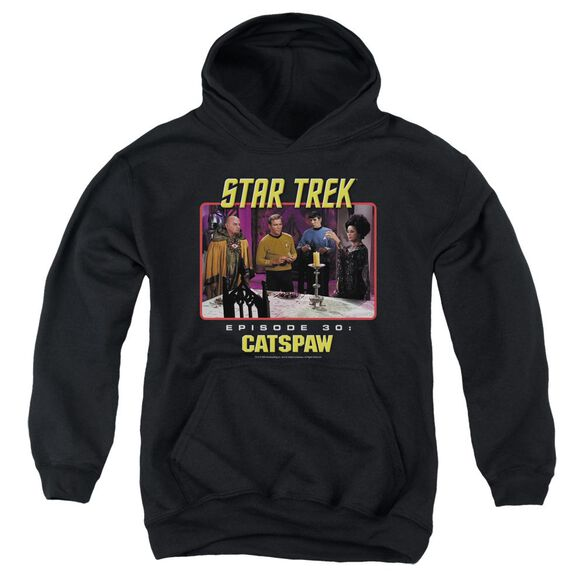 Star Trek Original Cat's Paw Youth Pull Over Hoodie