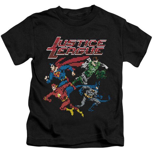 Jla Pixel League Short Sleeve Juvenile T-Shirt