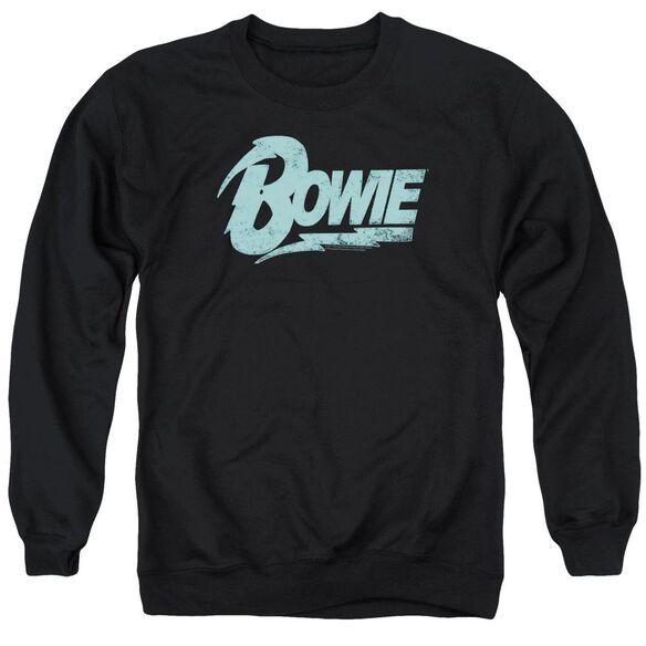 David Bowie Logo Adult Crewneck Sweatshirt