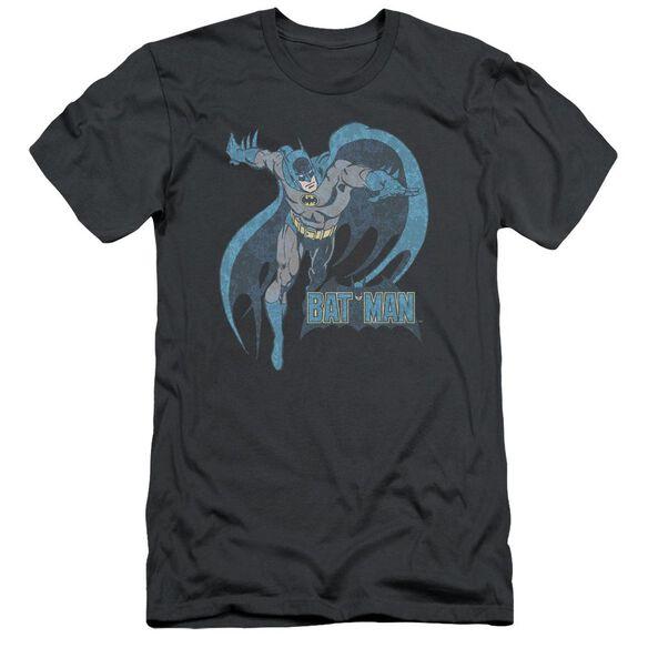 Dco Desaturated Batman Short Sleeve Adult T-Shirt