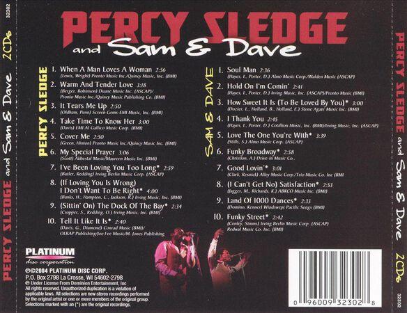 Sam & Dave Soul Man/Percy