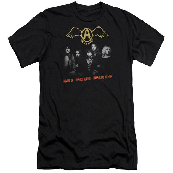 Aerosmith Get Your Wings Premuim Canvas Adult Slim Fit
