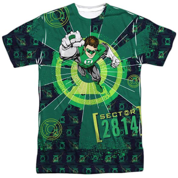 Green Lantern Sector 2814 Short Sleeve Adult Poly Crew T-Shirt