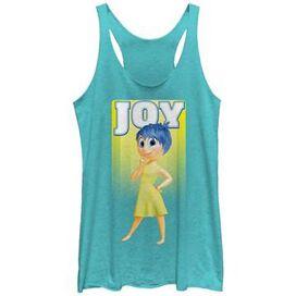 Inside Out Only Joy Tank Top Juniors T-Shirt