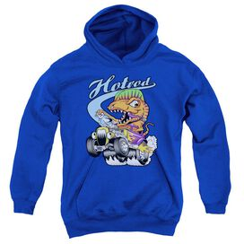 Hotrod-youth Pull-over Hoodie - Royal