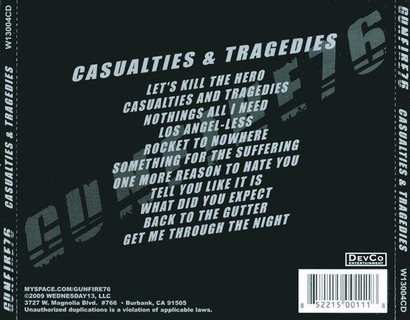 Casualties & Tragedies