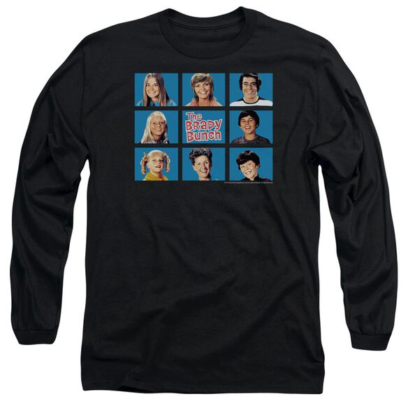 Brady Bunch Framed Long Sleeve Adult T-Shirt
