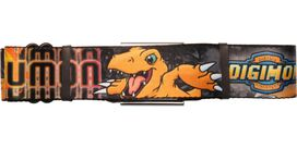 Digimon Agumon Flame Seatbelt Belt