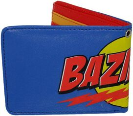 Big Bang Theory Bazinga Blue Wallet