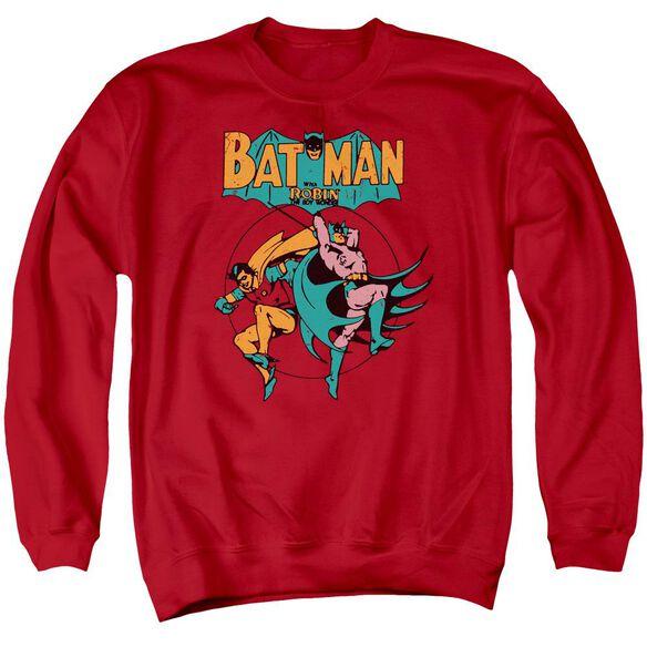 Dc Starling Shock Adult Crewneck Sweatshirt