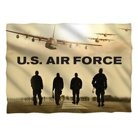 Air Force Long Walk Pillow Case White